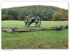 Kennesaw Mountain National Battlefield Park, north of Atlanta in Kennesaw, Georgia