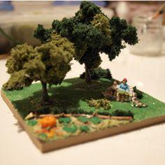 有馬玩具博物館『ジオラマ教室』