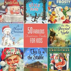 DIY Christmas Ideas – The AVENUE 50 Fabulous Christmas Books for Kids — one of my favorite traditions is purchasing new books each year for our collection and snuggling while we read our way through them. Christmas Books For Kids, Noel Christmas, Merry Little Christmas, Christmas Activities, Christmas Traditions, All Things Christmas, Winter Christmas, Christmas Crafts, Christmas Decorations