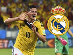 El valor de mercado de James Rodríguez de es 55 millones de euros