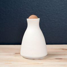 Ribbed Sake Set by PigeonToeCeramics on Etsy
