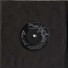 """For Sale - Michael Jackson One Day In Your Life UK  7"""" vinyl single (7 inch record) - See this and 250,000 other rare & vintage vinyl records, singles, LPs & CDs at http://eil.com"""