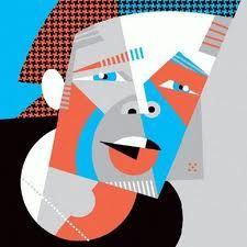 Brad Pitt, in a great caricature by Pablo Lobado.
