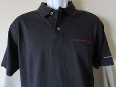 Sony Playstation 3 Black Polo Shirt Video Game Rare Size Medium