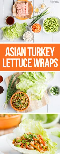 If you're a fan of PF Chang's, you'll LOVE this healthy Asian Lettuce Wrap recipe. #skinnysuppers