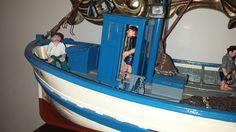 Capitán y marinero de proa. Fishman