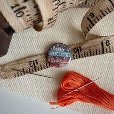 Chalk Talk, Needle Minders, Word Design, Quilted Pillow, Cross Stitch, Reusable Tote Bags, Seasons, Autumn, Embroidery