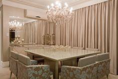 Sala de Jantar Projeto: Silvana Margarin Produto: Cerâmica Portinari, Salas, Rooms