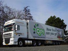 DAF Visbeen met Visbeen trailer met QPI  reclame AGF.nlFotoalbum