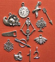 Hunger Games inspired charms and so much more! Theres charms for everything..check them out!