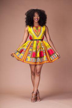 Dashiki Boom Dress