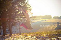 Secretly Jumping - Jump #68 of #100 by Olivia Bell, via Flickr