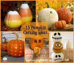15 pumpkin carving ideas