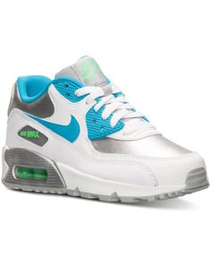 half off 2b3e2 7efba Nike Girls Air Max 90 Running Sneakers from Finish Line Air Maxes, Nikes  Girl