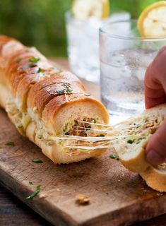 Try out this amazing recipe that has amalgamated garlic bread with the bacon dip. The recipe will make your coffee time relaxing and nourishing with this warm aromatic recipe. Friends and family would love to have plenty of it. In winters, You can serve it with tea or coffeewhile lemonade will best complementing this treat in summer.