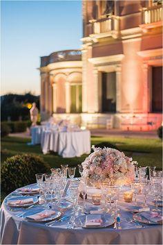 wedding table styling Flower Decorations, Wedding Decorations, Table Decorations, Florentine Gardens, Tea Lounge, French Wedding Style, White Lanterns, Rose Decor, Sophisticated Wedding