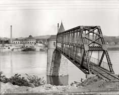 Waterworks: 1906 New Pumping Plant on Ohio River | Shorpy Historical Photo Archive