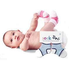 Socks Ons Guetres magiques pour bébé  6-12 mois