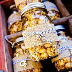 DIY Mason Jar Favors   Photo by: Katie Rivers Photography