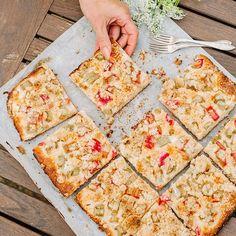 May Favourites 🌱 Päivitin blogiin toukokuun suosituimmat ohjeet 💕 Raparperipiirakan lisäksi sieltä löytyy mustikkaa, suolaista ja vähän hienostuneempaakin herkkua 👌🏻 #anninuunissa Bread, Food, Breads, Bakeries, Meals