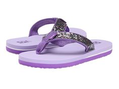 Teva Kids Mush II (Toddler/Little Kid/Big Kid) Purple Glitter - Zappos.com Free Shipping BOTH Ways
