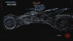 Batman: Arkham Knight, the Batmobile