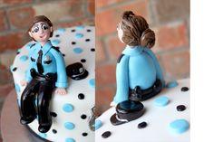 Gumpaste Figures | ... fondant policeman for cake sake gum paste police badge police badge