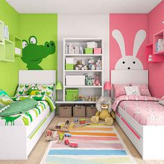 Twin girl bedrooms for toddler 28 www Oanuc com is part of Kids rooms shared -