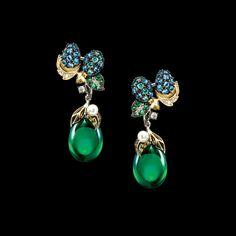 Greenberry Drop Earrings – ANABELA CHAN . LONDON . PARIS
