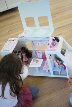 i will never make it, but love the idea of a barbie van