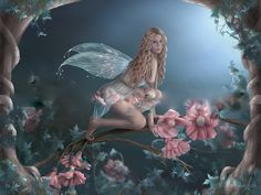 Fairies are commonly known as magical creatures of nature and can be seen as natures spirits. Description from fairyreadings.co.uk. I searched for this on bing.com/images