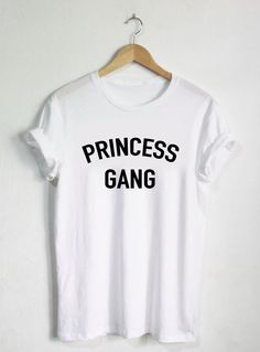 Princess Gang Shirt, Princess Tshirt, Womans Girls Adult Tee, Disney Shirt, Disney Princess Shirt, Tees, Frozen, Group School Gift Present by HangerSwag on Etsy https://www.etsy.com/listing/269904526/princess-gang-shirt-princess-tshirt
