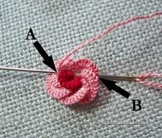 Cast-On Stitch Rose Más