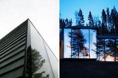 atelier oslo projects the dynamic norderhov cabin in a norwegian forest