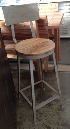 industrial bar stool available from Canalside interiors in Sydney.