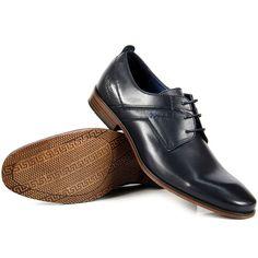 Skórzane obuwie męskie