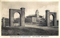 NMSU in the early years