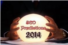 """The year 2014 has just begun and internet marketers are heading upon the horizon of SEO. Last year 2013 was a bit tough for the marketers as Google came upon with the updates of the algorithm. This year also the changes are expected in SEO algorithm, but one thing will remain static –""""Content is King"""". In 2014, Google will play to game out the fraud ones. Some of the assumptions made for SEO in 2014 is mentioned here. Have a look below."""