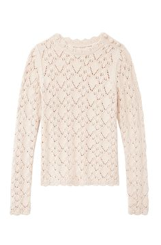 Crafted with an intricate peekaboo pointelle pattern, our lightweight La Vie Diamond Pointelle Pullover is ideal for layering as the seasons transition. Autumn Winter Fashion, Winter Style, Rebecca Taylor, Fall Looks, Sweater Outfits, Girly Girl, Knitwear, Girl Fashion, Pullover