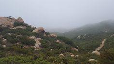 Iron Mountain Trail Ramona CA at 7:52AM (5/27/16) [3264 x 1836] [OC]