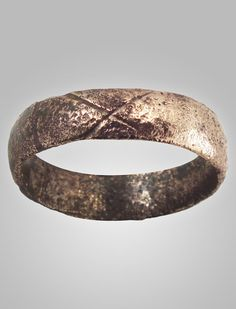 Here is a Viking ring, which appears much more simplistic than the Anglo-Saxon rings shown. That is very interesting, because Tolkien quite mourned the invasion of the Vikings into England.