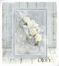 Chic Flowers DIY Easy Shabby Chic Arts and Crafts Ideas 39 chic decor diy scrapbook paper Arte Shabby Chic, Bodas Shabby Chic, Shabby Chic Wedding Decor, Shabby Chic Crafts, Manualidades Shabby Chic, Wedding Cards Handmade, Handmade Cards, Cards Diy, Wild Orchid