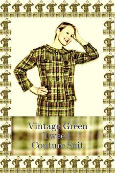 The Green Vintage Jacket & Skirt