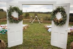 """No, the term """"country chic wedding"""" is not an oxymoron."""