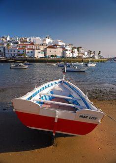 Ferragudo,  #beach and fishing village in #Argarve , #Portugal