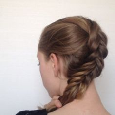 The Big, Messy, Reversed Dutch Braid | 23 Creative Braid Tutorials That Are Deceptively Easy