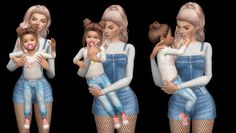 TODDLER & ME POSE PACK• 7 Total Poses • 14 Poses (7Adult + 7Toddler) • All in 1 for toddler and Adult. How to use; *place 2 sim teleport(s) on the same spot, then select your sim and toddler then... Sims 4 Body Mods, Sims 4 Game Mods, Sims Mods, The Sims 4 Pc, Sims Cc, Sims 4 Photography, Sims 4 Couple Poses, Sims 4 Stories, Sims 4 Family