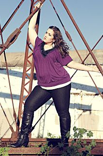 Andrea The Seeker : November 2012 Plus Size Fashion: Part 2
