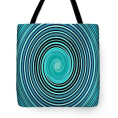 Spiraling In Green Tote Bag  http://fineartamerica.com/products/spiraling-in-green-sarah-loft-tot..  #totebags #sarahloft #digitalart #digital #abstract