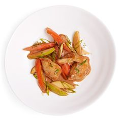 Chicken with Apples and Carrots  - Delish.com